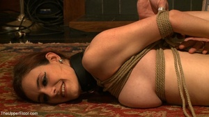Demure, attractive slave is attached to  - XXX Dessert - Picture 14