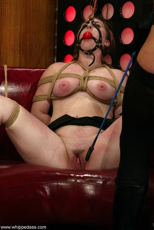 Gagged young slut gets dominated by a super hot mistress - XXXonXXX - Pic 4