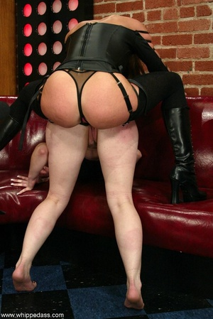 Gagged young slut gets dominated by a super hot mistress - XXXonXXX - Pic 17