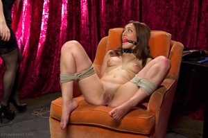 Long haired bitch gets drilled with a black strap-on - XXXonXXX - Pic 8