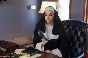 Black lady with small tits gets punished by a nun - XXXonXXX - Pic 7