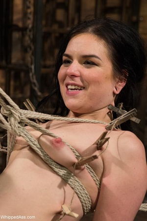 Dark haired darling gets gagged and tied up by her mistress - XXXonXXX - Pic 10