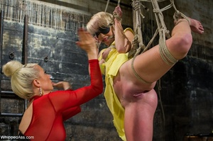 Two blondes found a way to fight the bor - XXX Dessert - Picture 7