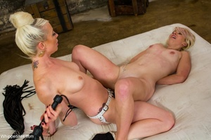 Two blondes found a way to fight the bor - XXX Dessert - Picture 14