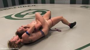 Raunchy blondie fucks a slut with a sex toy - XXXonXXX - Pic 8