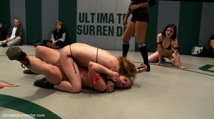 Strong lesbian sluts are ready for hot wrestling right now - XXXonXXX - Pic 6