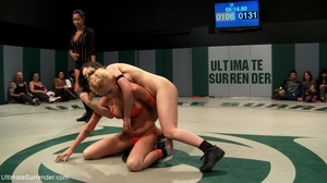 Strong lesbian sluts are ready for hot wrestling right now - XXXonXXX - Pic 11