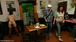 Slut is spanked and stripped in a diner, - XXX Dessert - Picture 10