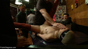 Slut is spanked and stripped in a diner, - XXX Dessert - Picture 13