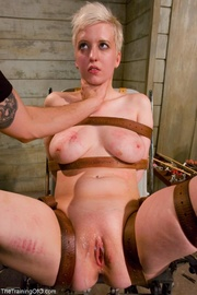 And porn torn up tied