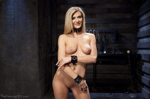 Flawless blonde has a completely kinky s - XXX Dessert - Picture 2