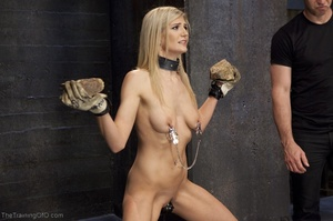 Flawless blonde has a completely kinky s - XXX Dessert - Picture 5