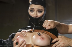 Long-haired submissive is served the cre - XXX Dessert - Picture 4