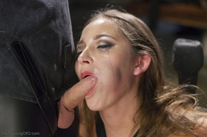 Long-haired submissive is served the cre - XXX Dessert - Picture 10