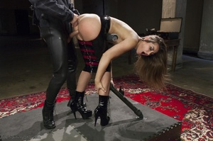 Long-haired submissive is served the cre - XXX Dessert - Picture 13