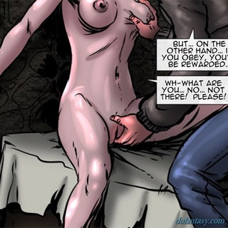 Long haired gal with big tits gets her - BDSM Art Collection - Pic 3