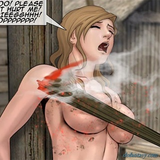 Hotties get their clothes torn and they - BDSM Art Collection - Pic 4