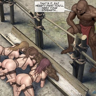 Hotties are tied up and treated like - BDSM Art Collection - Pic 3