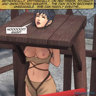 Busty soldier girl gets clubbed all - BDSM Art Collection - Pic 1