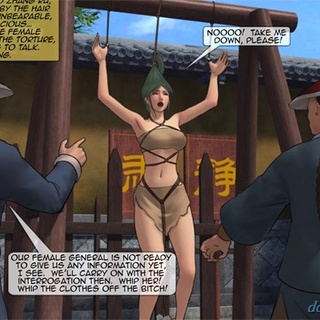 Busty soldier girl gets clubbed all - BDSM Art Collection - Pic 4