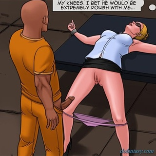 Slutty blondie with glasses gets rammed - BDSM Art Collection - Pic 3