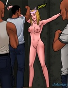 Long haired blondie gets humiliated by a bald mafia boss. Bad Lieutenant