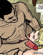 Brunette slave gets a warm stream of piss all over her face. Harem Horror