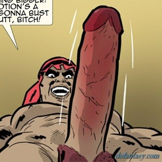 Well hung dude is ready to penetrate - BDSM Art Collection - Pic 4