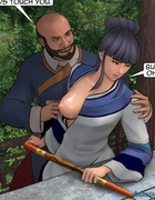 Busty ladies get attacked by some horny Asian men. Female General 3 by