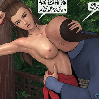 Busty ladies get attacked by some horny - BDSM Art Collection - Pic 4