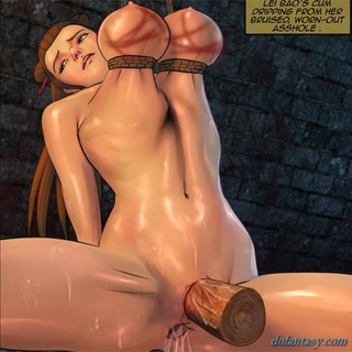 Poor slave girl is ready for some more - BDSM Art Collection - Pic 1