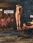 Captured warrior sluts are humiliated so well in the dungeon. Female General