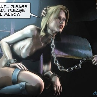 Tied up blondie is ready for some more - BDSM Art Collection - Pic 4