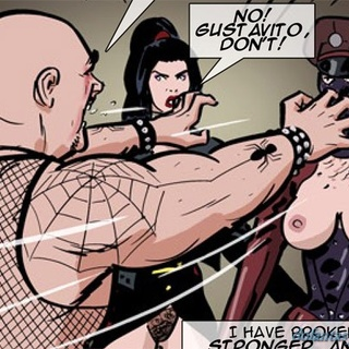 Horny prison guard gets disciplined by - BDSM Art Collection - Pic 3