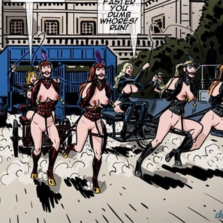 Super hot races with busty girls - BDSM Art Collection - Pic 3