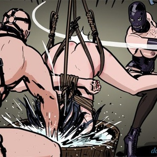Brunette lady gets whipped and face - BDSM Art Collection - Pic 3