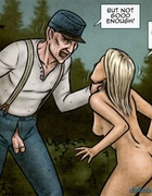 After this fine blowjob hunter takes home this blonde slave girl. Breeders: