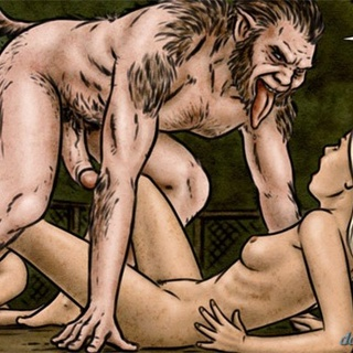 Horny wolfman has another blonde sex - BDSM Art Collection - Pic 4