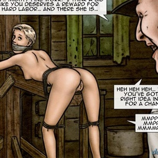 Blonde cutie with a trimmed cunt gets - BDSM Art Collection - Pic 4