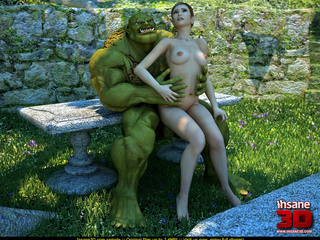 Muscled green troll fuck sa wonderful - Cartoon Sex - Picture 1