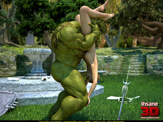 Muscled green troll fuck sa wonderful - Cartoon Sex - Picture 2