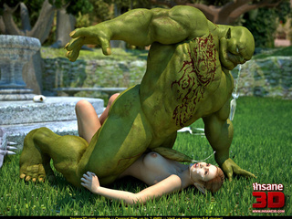 Muscled green troll fuck sa wonderful - Cartoon Sex - Picture 3