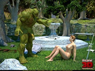 Muscled green troll fuck sa wonderful - Cartoon Sex - Picture 4