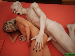 Blonde cheerleader sucks vampire's dick and - Cartoon Sex - Picture 2