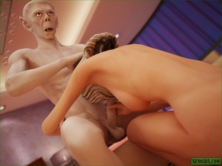 Blonde cheerleader sucks vampire's dick and - Cartoon Sex - Picture 5