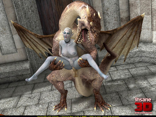 Freaky elf lady with big boobs fucked by a nasty - Picture 2