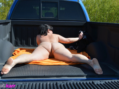 Hot big booty mature bitch poses doggy like a whore - Picture 7
