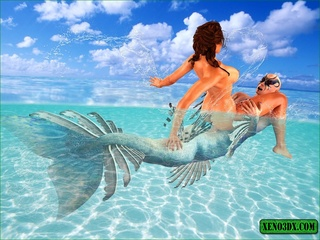 Horny sea creature can't resist this perfect - Cartoon Sex - Picture 4