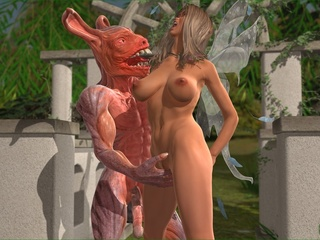 Blonde cutie gets fucked and splashed with - Cartoon Sex - Picture 2