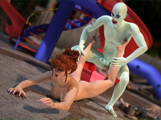Impressive ginger slut enjoys in this freaky - Cartoon Sex - Picture 3